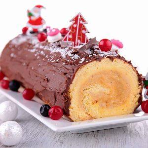 Recette à Noel : une bonne bûche glacée
